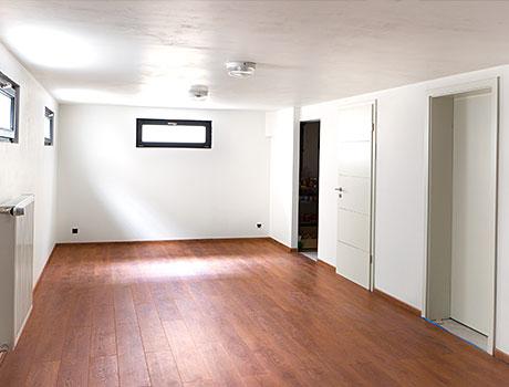 Kellerraum wohnlich gestalten  Kellersanierung - HWS